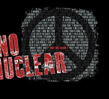 NO NUCLEAR Poster by Yago
