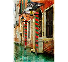 A Venetian Hotel  Photographic Print
