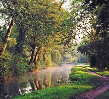 Mon and Brecon Canal. by Roly01