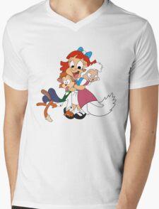 Elmira - Looney Toons Mens V-Neck T-Shirt