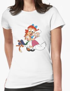 Elmira - Looney Toons Womens Fitted T-Shirt
