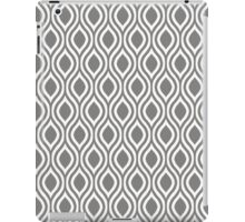 Modern Classic Grey Pattern iPad Case/Skin