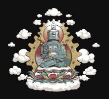 """Mr. Ohmz"" the Buddha Bot v6 One Piece - Short Sleeve"