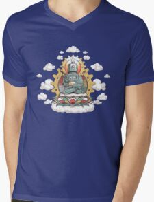 """Mr. Ohmz"" the Buddha Bot v6 Mens V-Neck T-Shirt"