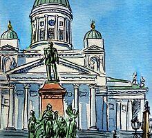Finland Helsinki Lutheran Cathedral by Irina Sztukowski