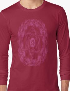 pink flower of awesomeness Long Sleeve T-Shirt