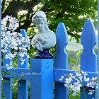 Fence Post Bust, Lady Holding by TrendleEllwood
