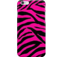 Pink Zebra  iPhone Case/Skin