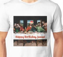 Happy Birthday, Jesus! Christmas Funny Theme Unisex T-Shirt
