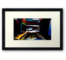 MazeD Framed Print