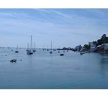 Tranquil Moorings Photographic Print