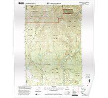 USGS Topo Map Washington State WA Bobs Mountain 240136 2000 24000 Poster
