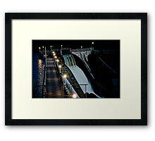Black Canyon Spillway Framed Print