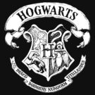 Hogwarts Crest T-Shirt  by parko