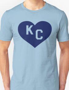 Paul Rudd Heart KC-Kansas City-Royals T-Shirt