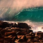 Clear Blue  rocks by Kip Nunn