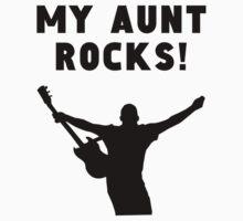 My Aunt Rocks Kids Tee