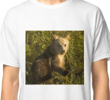 Grizzly Cub-Signed-3744 Classic T-Shirt