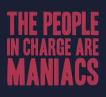 The People in Charge are Maniacs -Violet Red by Aaran Bosansko