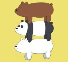 We Bare Bears! Kids Tee