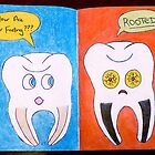 """Teeth""-Sketchbook Project (Limited Edition) 2012 by Belinda Leopold"