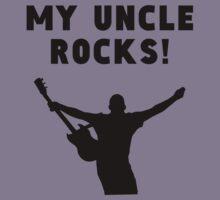 My Uncle Rocks Kids Tee