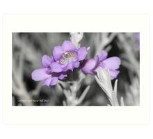 macro flora 023 Art Print