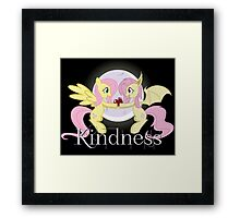 Fluttershy and flutterbat Framed Print