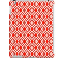 Modern Classic Red Pattern iPad Case/Skin