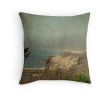 View From Nobska Point - Woods Hole MA Throw Pillow