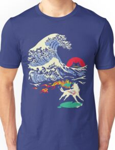 The Great Wave off Oni Island Unisex T-Shirt