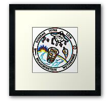 STS-32 Patch Framed Print