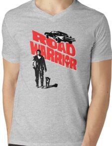 Road Warrior Mens V-Neck T-Shirt