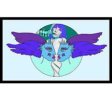 DIVA & THE ANGELS Photographic Print