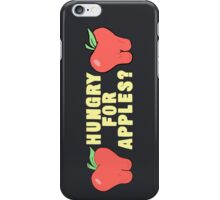 Rick and Morty-- Hungry for Apples iPhone Case/Skin