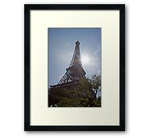 Eiffel Tower - Tour Eiffel Paris France Framed Print