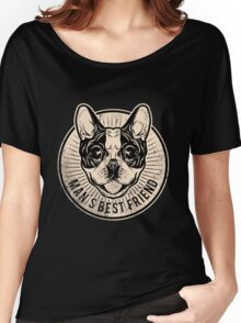Frenchie Women's Relaxed Fit T-Shirt