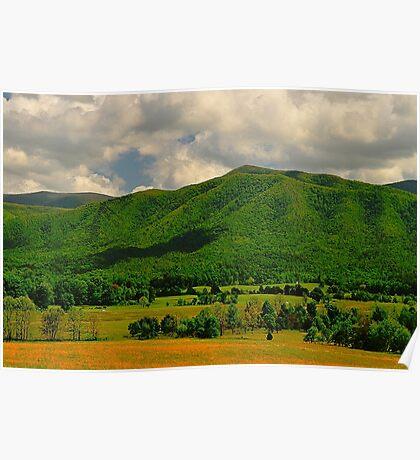 Mountain Ridge Poster