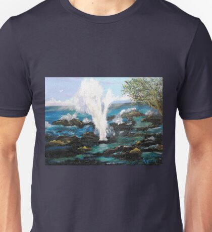 Spouting Horn....Up Close &Personal Unisex T-Shirt