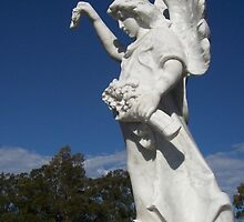 Angel Nowra Cemetary by Donna Huntriss