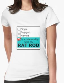 In A Relationship With My Rat Rod T-Shirt