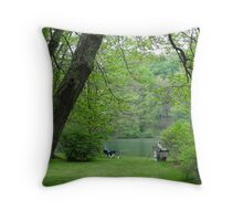 Total Relaxation Throw Pillow