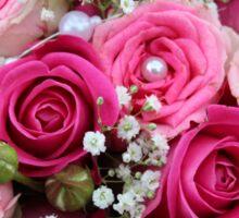 rose flower bouquet Sticker