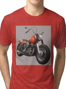 Red Pan Bobber Tri-blend T-Shirt