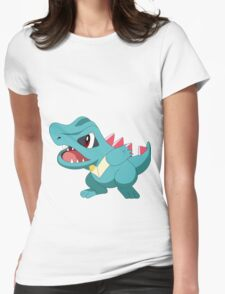 Totodile ! Womens Fitted T-Shirt