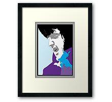 THE KING OF VEGAS Framed Print