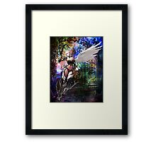 KEEPER OF THE GATE Framed Print