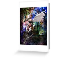 KEEPER OF THE GATE Greeting Card
