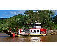 Boone No. 7 Anderson Ferry Cincinnati,Ohio - Constance, Kentucky Photographic Print