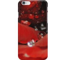 Red means Power iPhone Case/Skin
